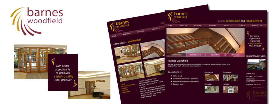 Construction and Bulding Web Design